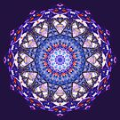 Mandala - Heart of the universe by Lilaviolet
