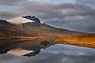 Old Man of Storr reflection.  Trotternish. Isle of Skye. Scotland. by PhotosEcosse