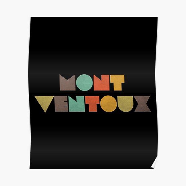 Mont Ventoux Vintage Poster