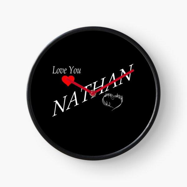Love You Nathan - Irish Country Music Clock