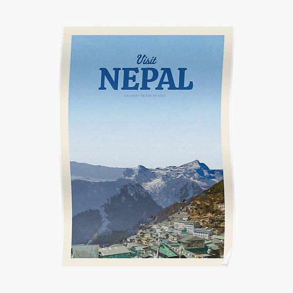 Visiter le Népal Poster