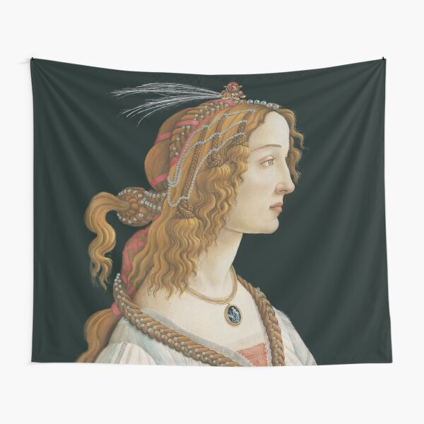 Sandro Botticelli - Portrait of a Young Woman  Tapestry
