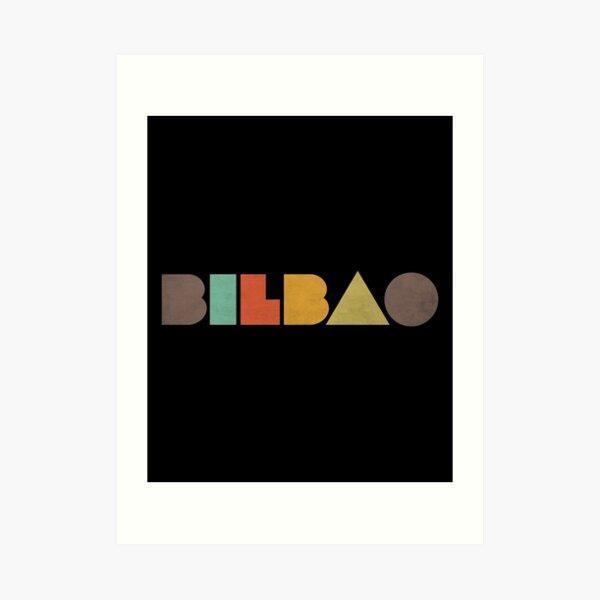 Bilbao Vintage Lámina artística