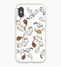neko atsume cat party!! iPhone Case