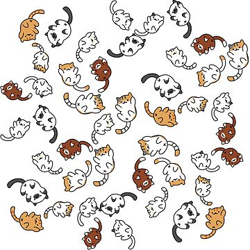 neko atsume cat party!! by babejpg