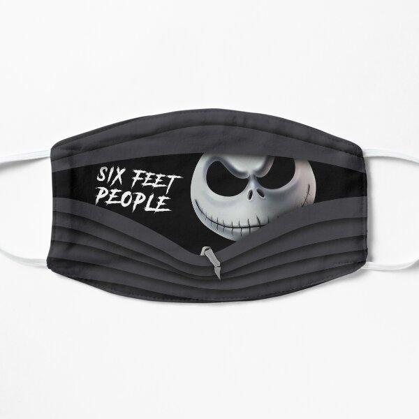 six feet people jack skellington Flat Mask