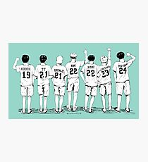 Summer Package - Name Shirts  Photographic Print