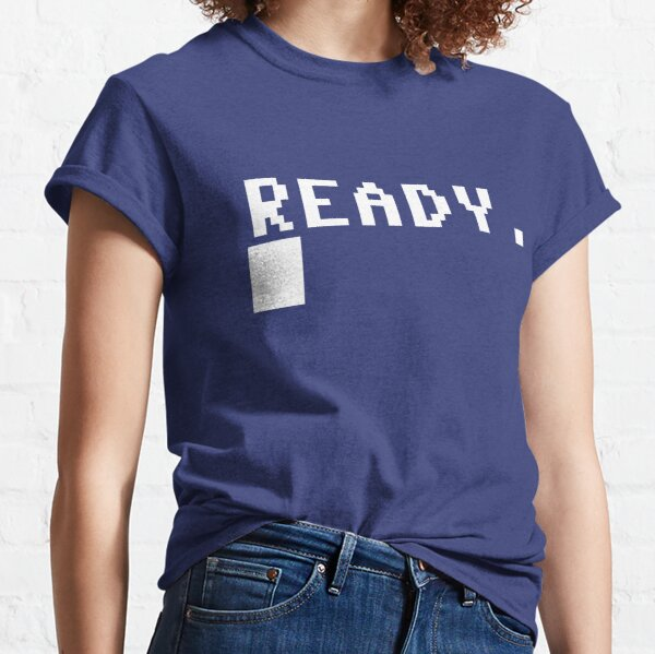 Commodore 64 - C64 - Ready. Classic T-Shirt