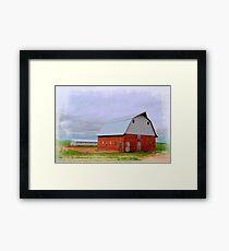 Ulmus Barn Framed Print