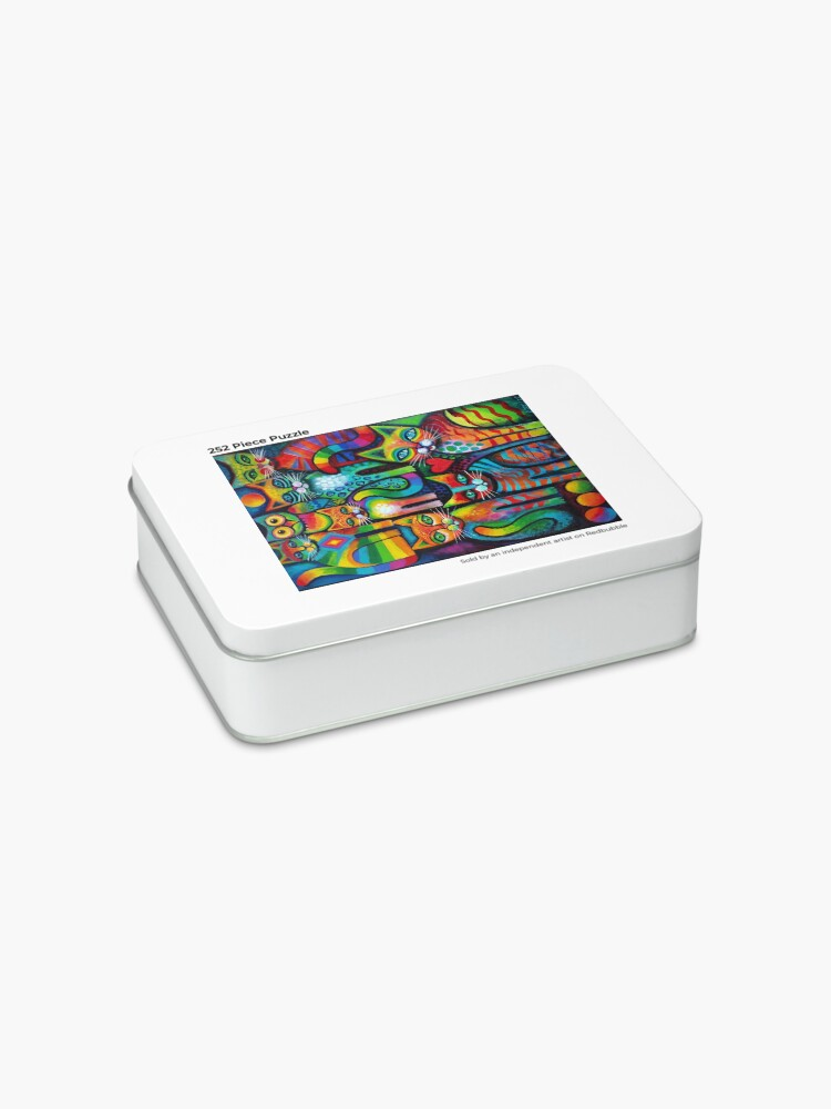 Alternate view of Owl and pussicats Jigsaw Puzzle