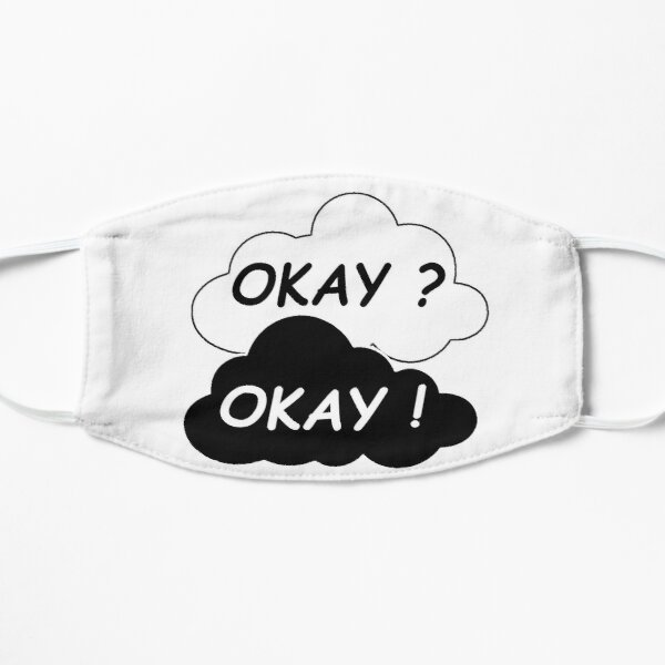 Okay? Okay. The Rift in Our Stars Sticker Mask