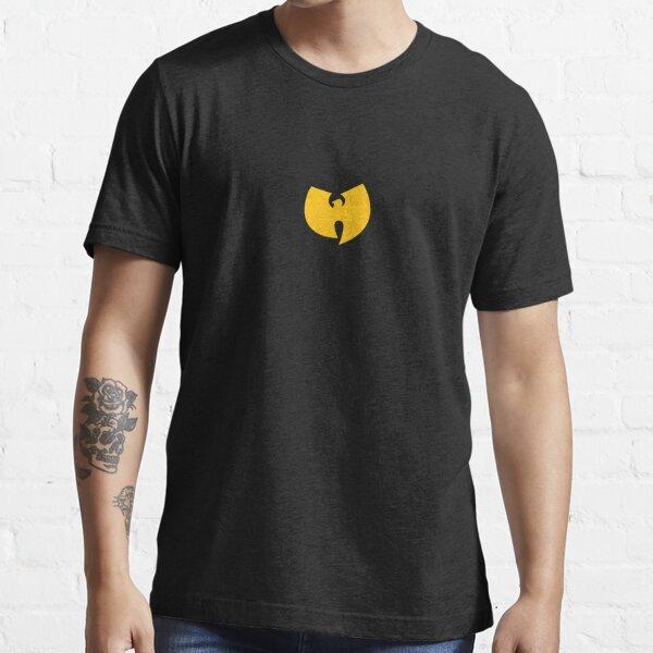 T-shirt à logo WU sur la poitrine T-shirt essentiel