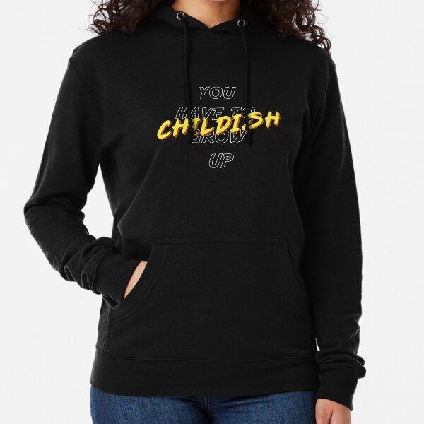 TGFbro Childish Lightweight Hoodie