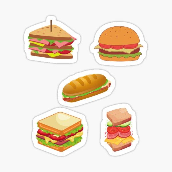 subway sandwich Sticker