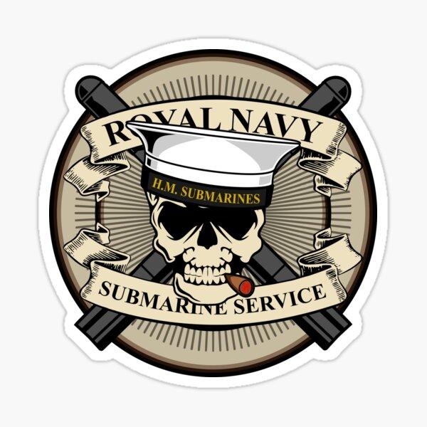 Royal Navy Submarine Service Sticker