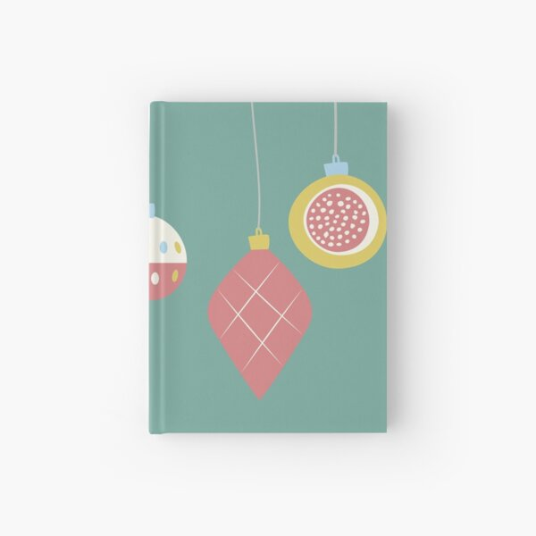 Christmas Decorations Hardcover Journal