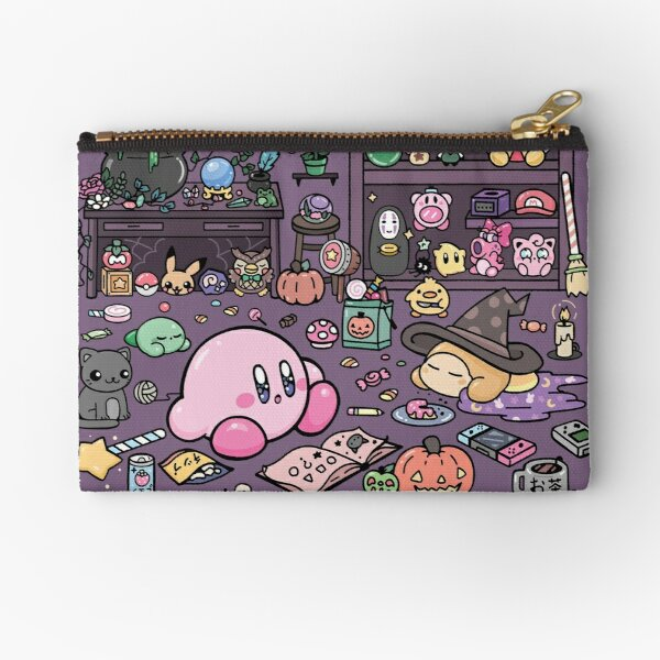 Kirby and the Magical Wardrobe Zipper Pouch