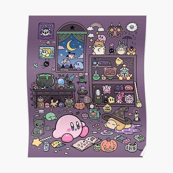 Kirby y el armario mágico Póster