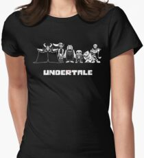 Undertale Family Women's Fitted T-Shirt