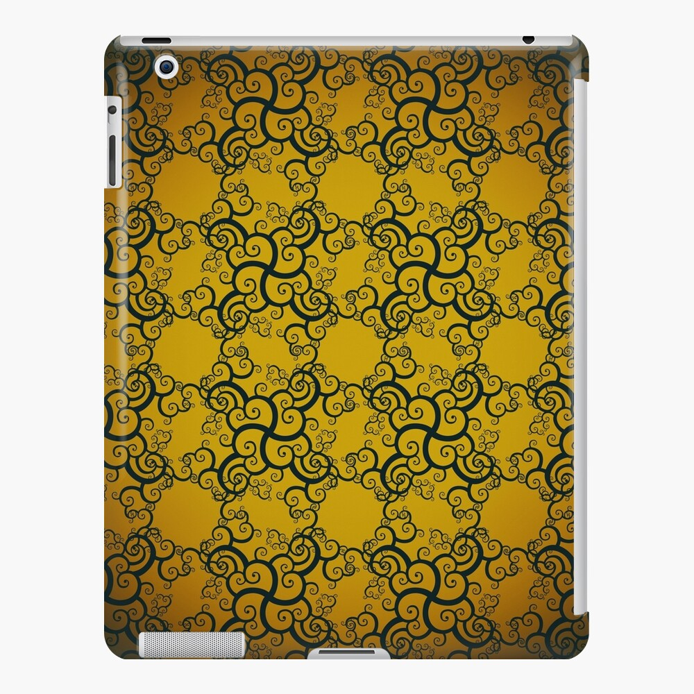 Swirl Damask iPad Case & Skin