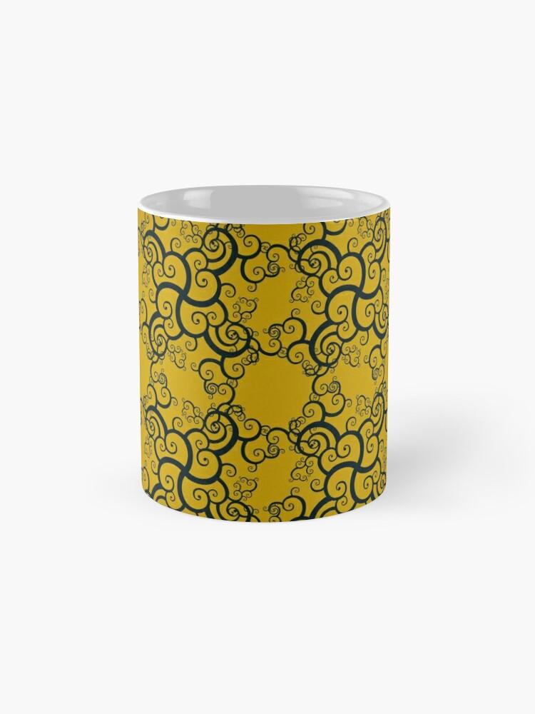 Alternate view of Swirl Damask Mug