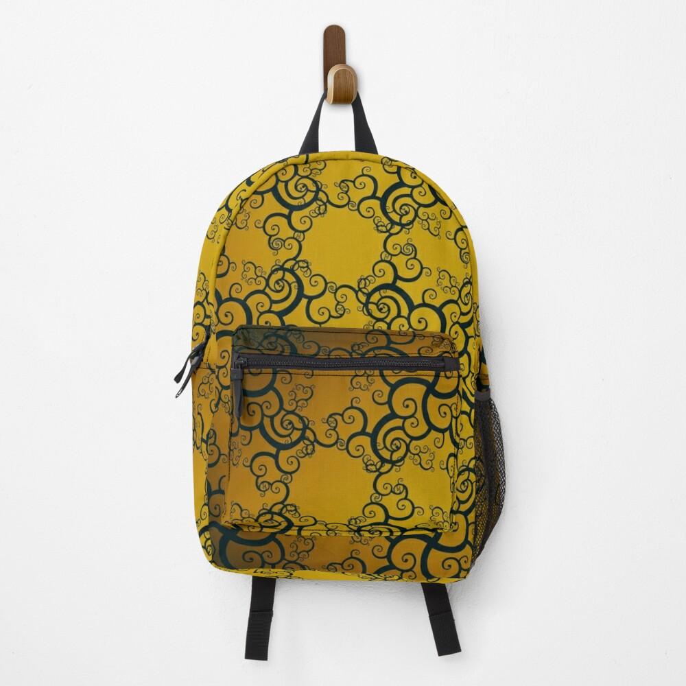 Swirl Damask Backpack