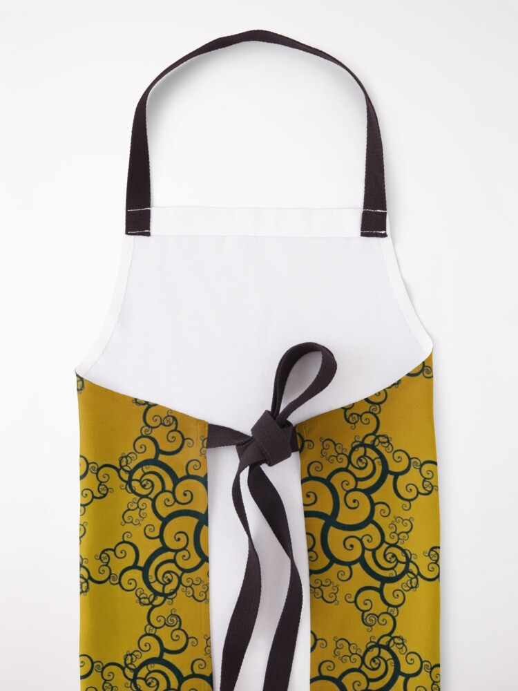 Alternate view of Swirl Damask Apron