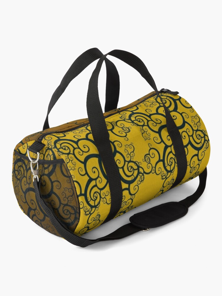 Alternate view of Swirl Damask Duffle Bag