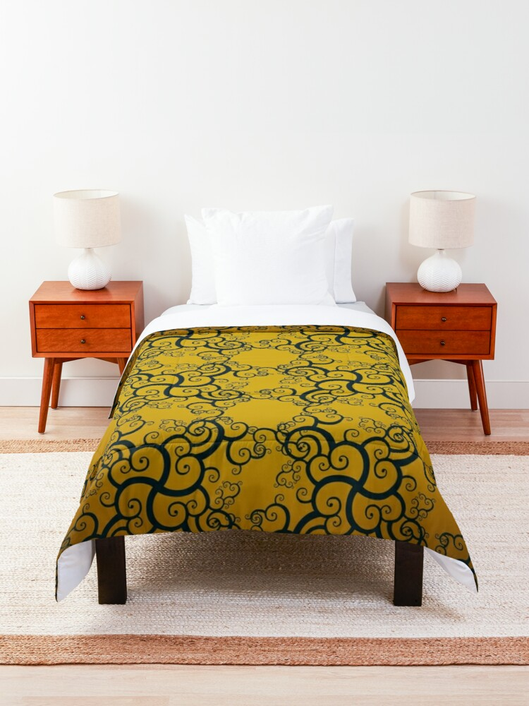 Alternate view of Swirl Damask Comforter