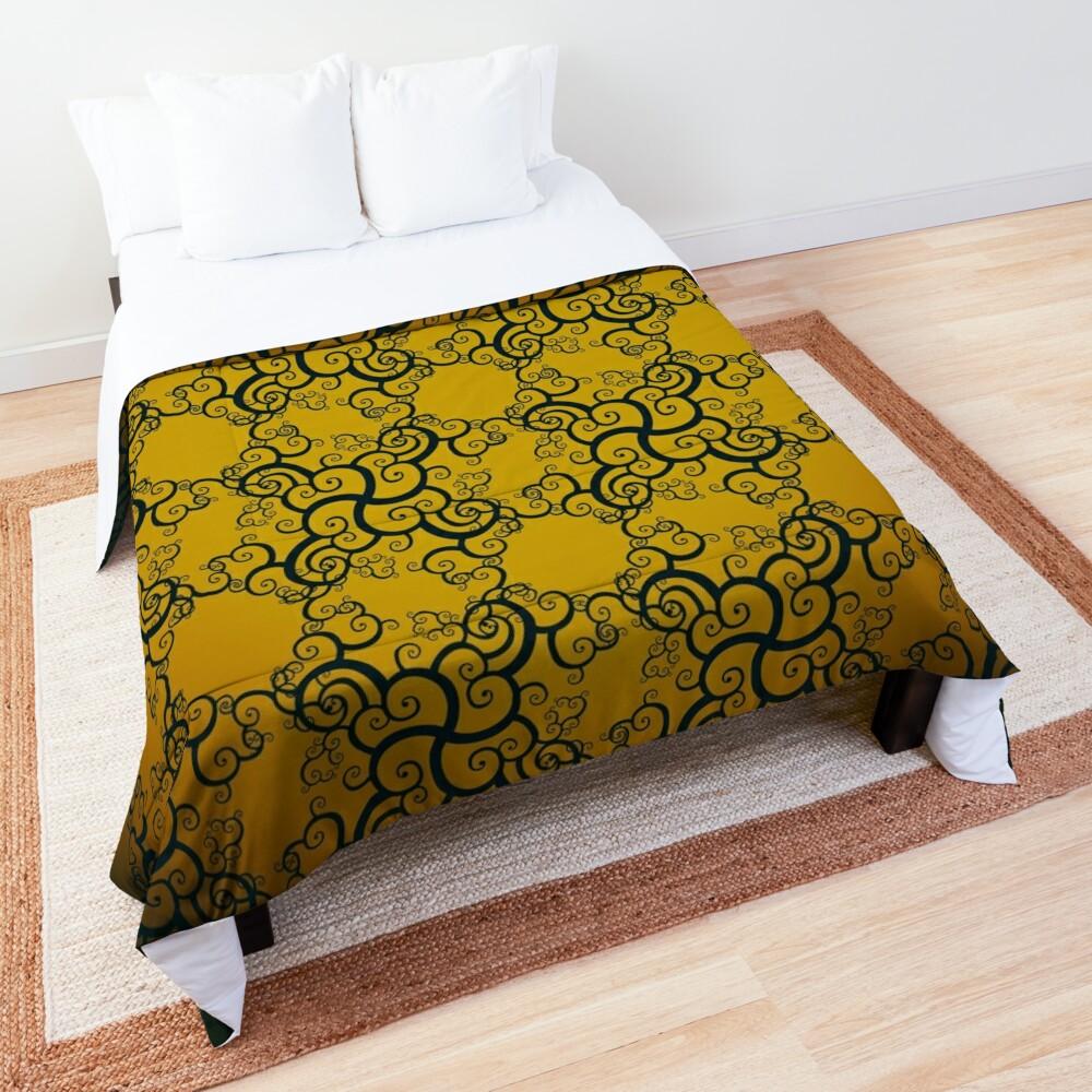 Swirl Damask Comforter