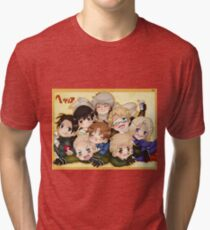 Hetalia Group Tri-blend T-Shirt