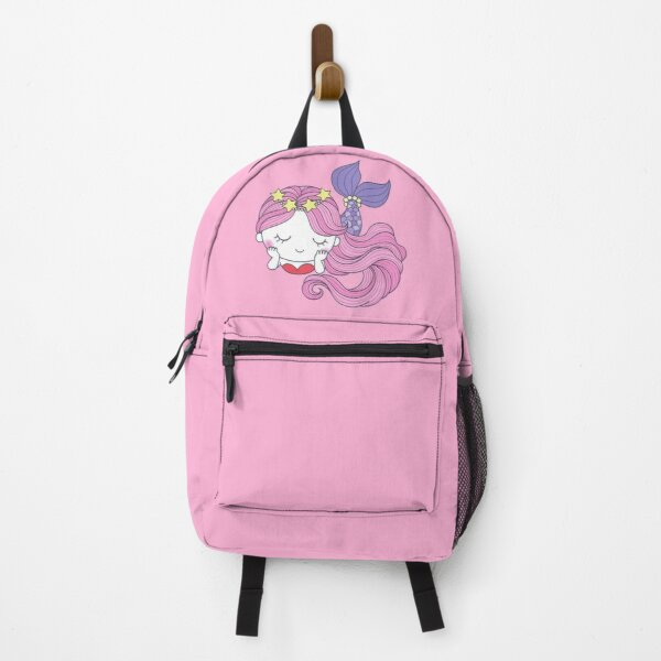 Pretty Purple Mermaid Backpack