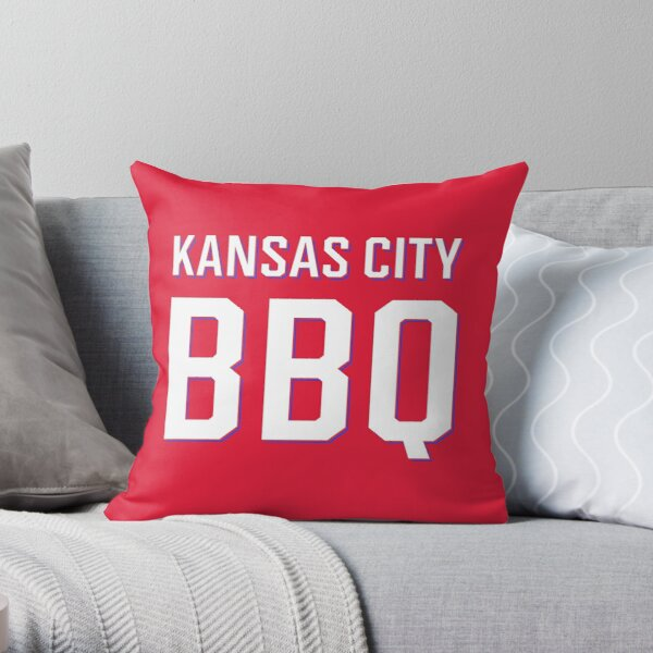 Kansas City BBQ | I Love Kansas City BBQ Throw Pillow