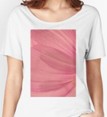 Pink Cosmo Petals Macro  Women's Relaxed Fit T-Shirt