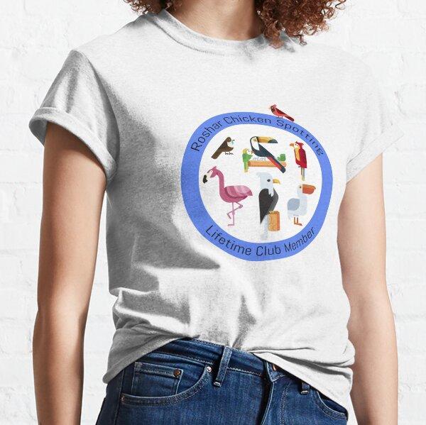 Avistamiento de pollo Camiseta clásica