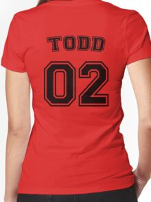 Jason Todd Sports Jersey Women's Fitted V-Neck T-Shirt