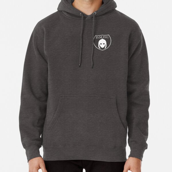 DMDC - Detectorists Badge - White Pullover Hoodie