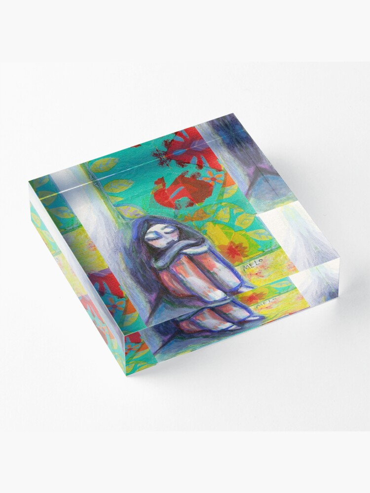 Alternate view of Hurts Acrylic Block