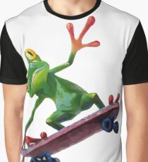 frog skateboard Graphic T-Shirt