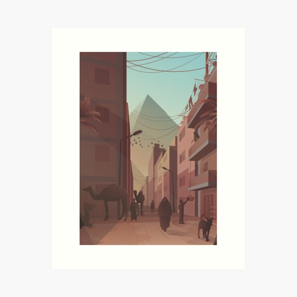 Illustrations of Cairo - Vol. 2 Art Print