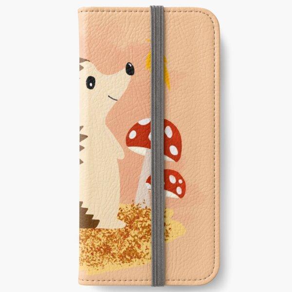 Cute Hedgehodge iPhone Wallet