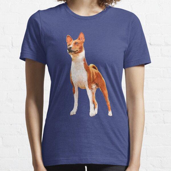 Basenji Dog Striking a Pose Essential T-Shirt