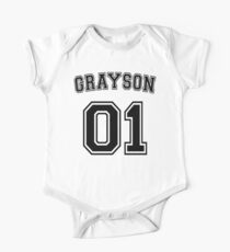 Dick Grayson Sports Jersey Kids Clothes
