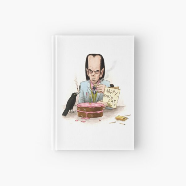 Dr. Cave's Birthday Hardcover Journal