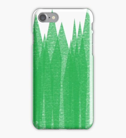 Mountain trees iPhone Case/Skin