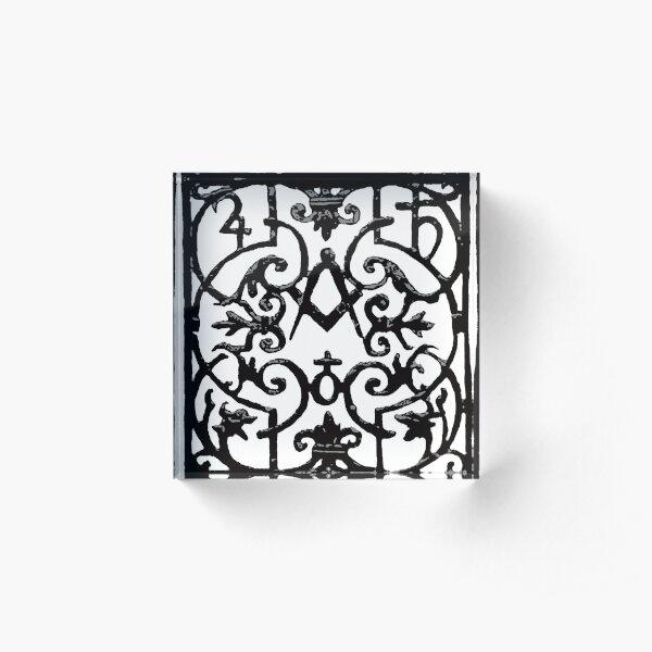 A. Malcolm Outlander Classic Acrylic Block