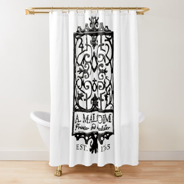 A. Malcolm Outlander Classic Shower Curtain