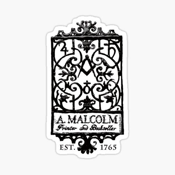 A. Malcolm Outlander Classic Sticker