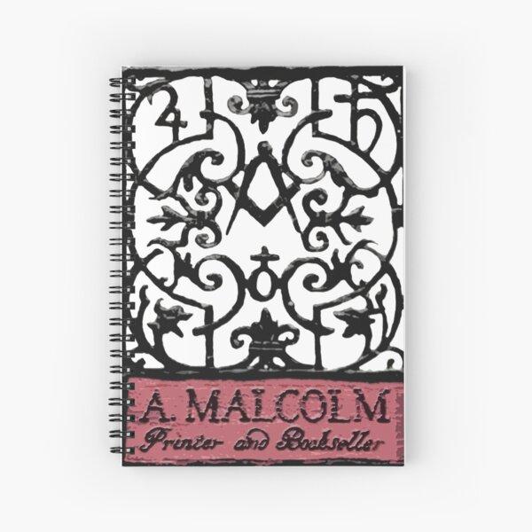 A. Malcolm Outlander de color Cuaderno de espiral