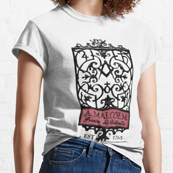 A. Malcolm Outlander Colored Classic T-Shirt